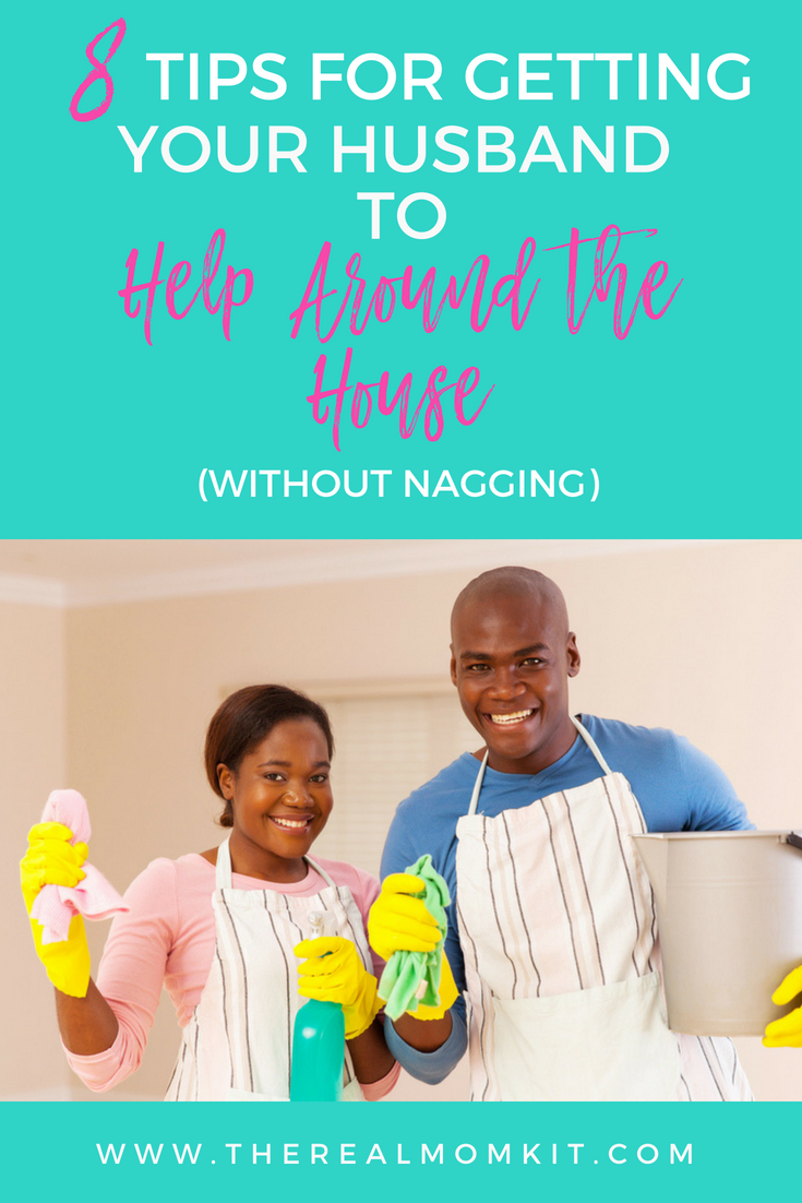 How to Recruit Help from Your Husband
