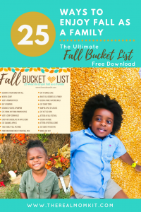 Fall Bucket List Activities